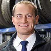 Benjamin Raab - Vertriebsleiter Firmenkunden Pneumobil