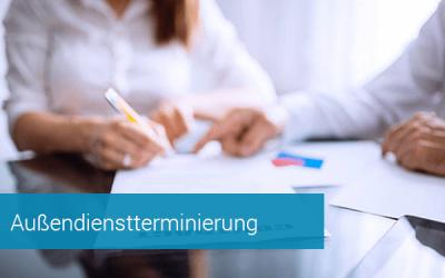 Außendienstterminierung - B2B Terminvereinbarung für den Vertrieb