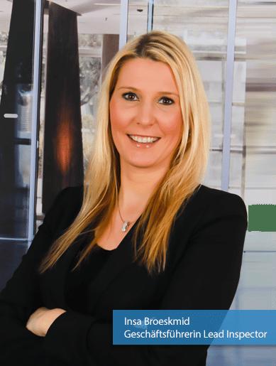 Insa Broeksmid - Geschäftsführerin Lead Inspector